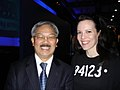 SF Mayor Ed Lee and Suki Kott (5678630784).jpg