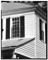 SOUTHEAST CORNER- HOUSE AND PORTICO; CORNICE DETAILS - The Rocks, Eutaw Springs, Orangeburg County, SC HABS SC,38-EUTA.V,4-10.tif