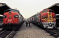 SP 6451 next to ATSF 340 LAUPT Mar71xRP - Flickr - drewj1946.jpg
