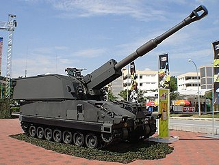 SSPH Primus self-propelled artillery