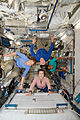 STS-131 Metcalf-Lindenburger, Poindexter, Wilson, Yamazaki at Kibo.jpg