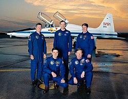 משמאל לימין: מלניק, קבאנה, אקרס, ריצ'רדס, שפרד