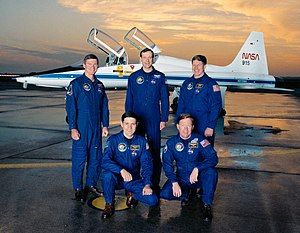 STS-41 - Image: STS 41 crew