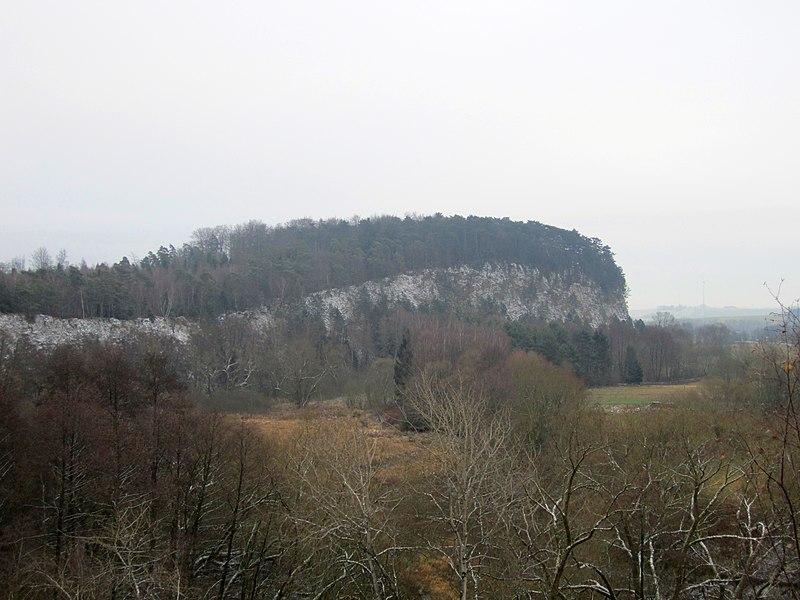 Der Karstwanderweg  800px-Sachsensteinwand_1