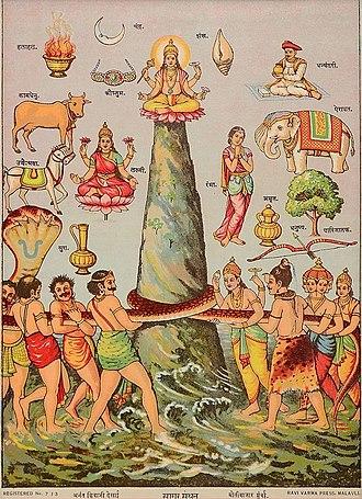 Samudra manthan - Sagar Manthana