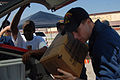 Sailors distribute food, water at Point of distribution stations in Galveston DVIDS116754.jpg