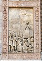 Saint Anastasia (Verona) - Portal details - St.Peter preaching.jpg