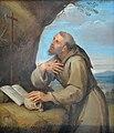 Saint François d'Assise en oraison devant un crucifix - L'Albane - Q18572458.jpg