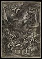 Saint Laurence of Rome; his martyrdom. Wellcome L0075417.jpg