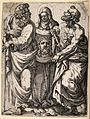 Saint Paul the Apostle, Saint Veronica and Saint Peter the A Wellcome V0033209.jpg