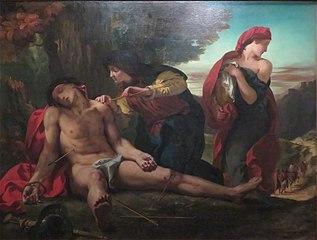 Saint Sébastien secouru par les Saintes-Femmes
