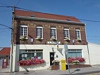 Sainte-Marie-Kerque (Pas-de-Calais) la mairie.JPG