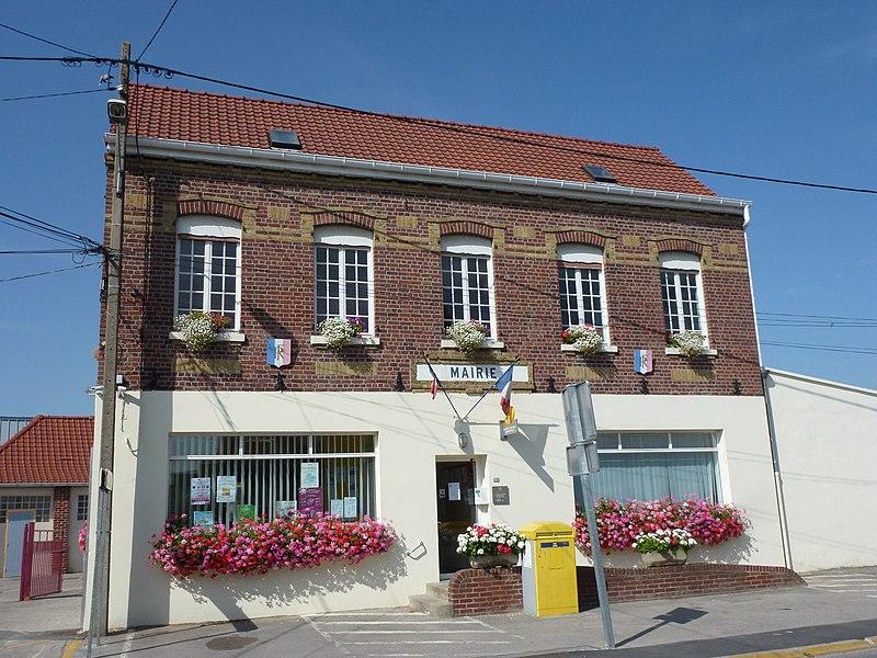 Sainte-Marie-Kerque (Pas-de-Calais) la mairie