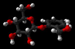 Salicin - Image: Salicin from xtal 1984 3D balls