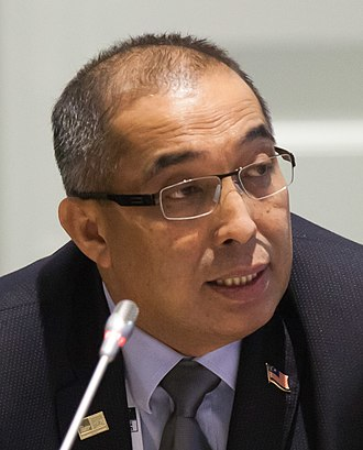 Minister of Communications and Multimedia (Malaysia) - Image: Salleh Said Keruak, 15 November 2016