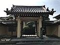 Sammon gate of Honenji Temple in Munakata, Fukuoka.jpg