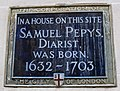 Samuel Pepys plaque London.jpg