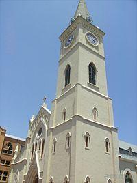 El campanario de la Catedral mide 43 metros de altura