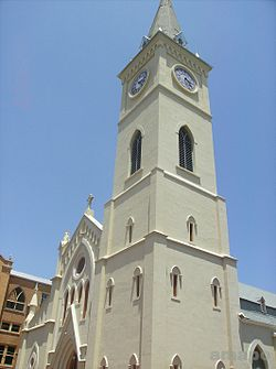 San Agustin Cathedral Tower.JPG