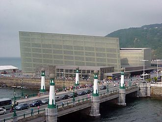 Kursaal Congress Centre and Auditorium - Image: San Sebastian Palacio Kursaal