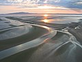 Sands of the Solway at Sunset - geograph.org.uk - 73954.jpg