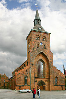 St. Canutes Cathedral Church in Southern Denmark, Denmark