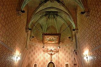 Josep Puig i Cadafalch - Image: Sant Julia d'Argentona Capella del Sagrament