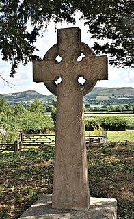 Celtic cross Christian cross superimposed on a circle
