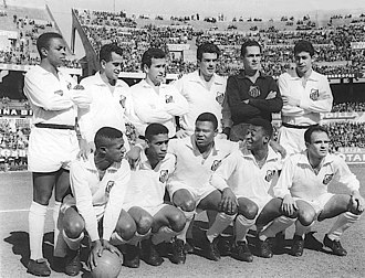 Os Santásticos - The Santos FC team that won its first Copa Libertadores after beating Peñarol by 3-0 at River Plate Stadium of Buenos Aires, Argentina, 30 August 1962