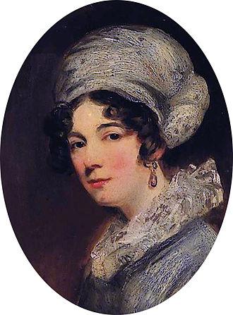 Sarah Lyttelton, Baroness Lyttelton - Detail from a 19th-century portrait of Sarah, Lady Lyttelton by John Jackson