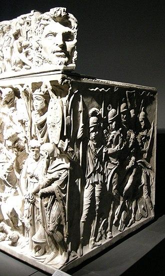 Portonaccio sarcophagus - Image: Sarcofago dio portonaccio, 04
