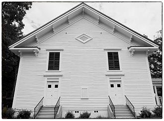 National Register of Historic Places listings in Chattooga County, Georgia - Image: Sardis Baptist Church