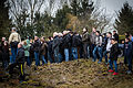 Sarre-Union habitants pendant cérémonie profanation cimetière juif 17 février 2015.jpg