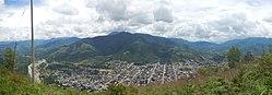 Антенна города Сатипо