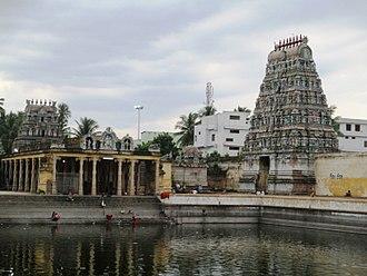 Sattainathar Temple, Sirkazhi - Gopuram of the temple