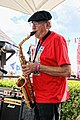 Saxophonist at Broadstairs Folk Week 2017, Kent, England 2.jpg