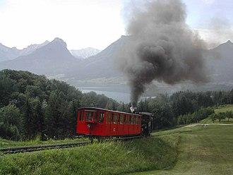 Schafberg Railway - Schafbergbahn near St. Wolfgang