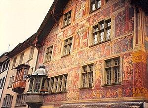 Tobias Stimmer - House zum Ritter