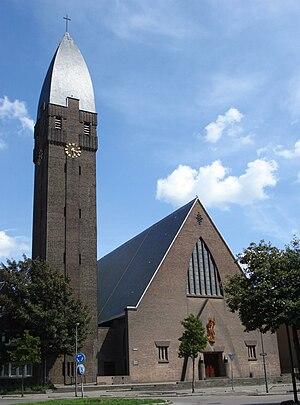 Han Groenewegen - The Roman catholic Church of the Holy Heart of Jesus in Schiedam, among Groenewegen's early work in the Netherlands.
