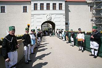 Freudenstein Castle - Castle entrance