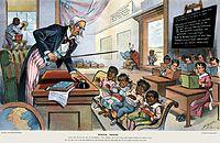 School Begins (Puck Magazine 1-25-1899, cropped).jpg