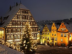 Marktplatz in Christmas time