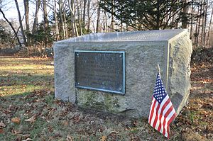 Men of Kent Cemetery - Memorial to Scituate's early ministers