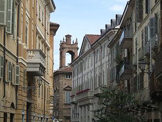 Casale Monferrato - Via Lanza