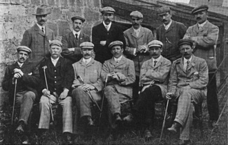 Jack White (golfer) - Image: Scotland's 1903 International Golf Team