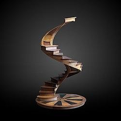 Screw staircase-CNAM 4106