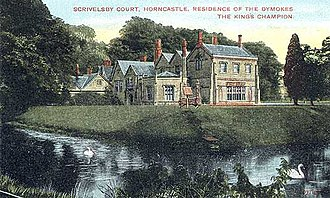 Manor of Scrivelsby - Scrivelsby Court