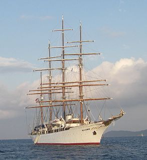 <i>Sea Cloud</i> sailing cruise ship