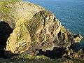 Sea stack at Burrow Head - geograph.org.uk - 1450971.jpg