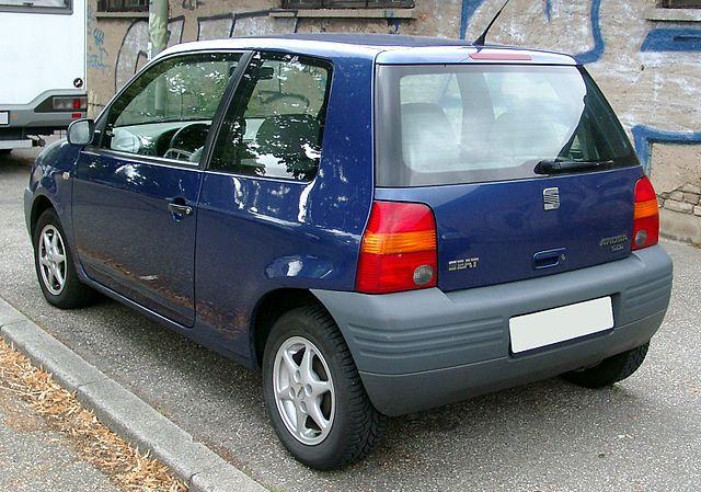 Image of Seat Arosa rear 20080722
